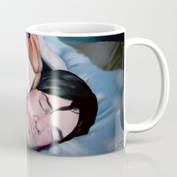 eternal sunshine Mugs featuring Eternal Sunshine by Giulia Mariella