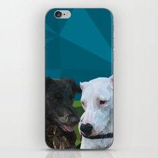 Barry Dog iPhone & iPod Skin