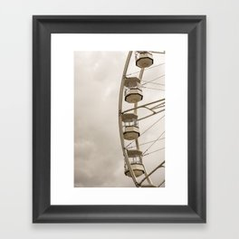 The Gondola Ride Framed Art Print