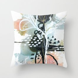 EMERGE // haze Throw Pillow