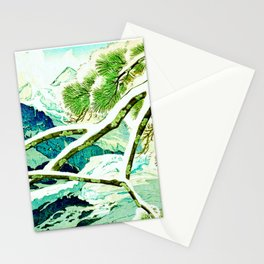 The Winter Green Stationery Cards