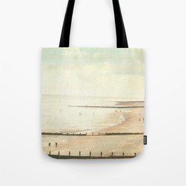 Not so vintage beach... Tote Bag