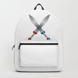 Two Roman Swords Backpack