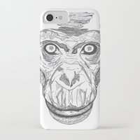 ape iPhone & iPod Cases featuring Ape by Eugene Lee