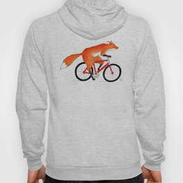 Fox Riding Bicycle Hoody