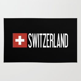 Switzerland: Swiss Flag & Switzerland Rug