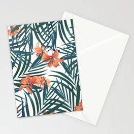 Tropical Lilies Stationery Cards