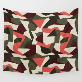 Camouflage pattern Wall Tapestry