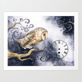 Timelapse Art Print
