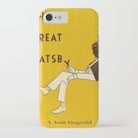 the great gatsby iPhone & iPod Cases featuring The Great Gatsby by MW. [by Mathius Wilder]