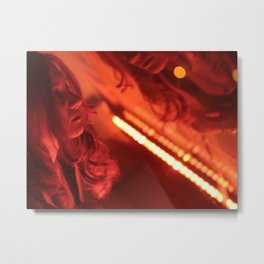 Simone 02 Metal Print