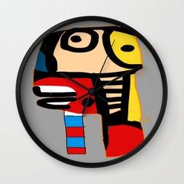 Tribe face Wall Clock