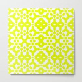 Chartreuse Citrus Metal Print