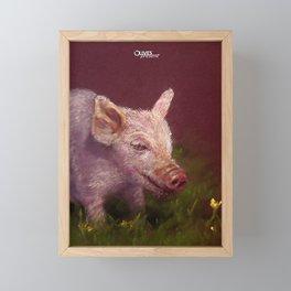 { Pig } Framed Mini Art Print