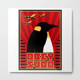Obey Sudo Metal Print