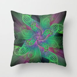 Can of Worms Throw Pillow