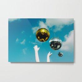 Disco Sky Metal Print