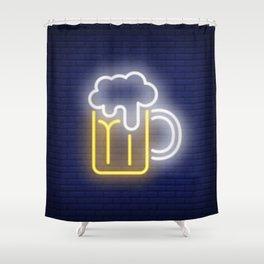 Cerveza Shower Curtain