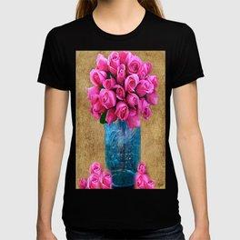 BALL MASON JAR AND ROSES T-shirt