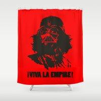 la Shower Curtains featuring Viva la Empire! by 6amcrisis