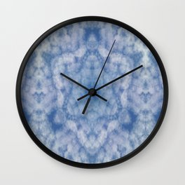 Pattern of clouds 04 Wall Clock