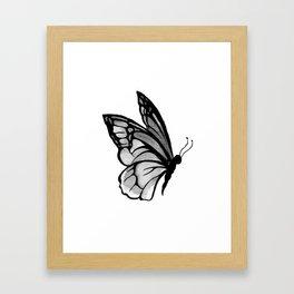 Ink butterfly Framed Art Print