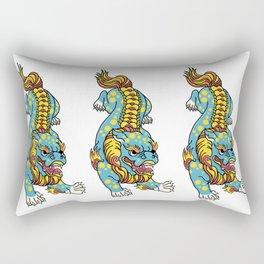 Foo Dog Rectangular Pillow
