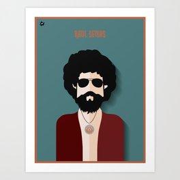 Raul Seixas Art Print