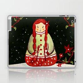 Winter Magic Girl Laptop & iPad Skin