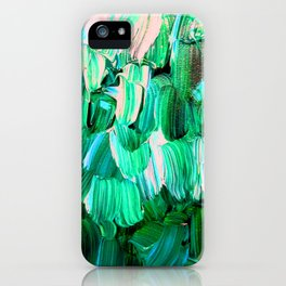 Moon Feathers iPhone Case