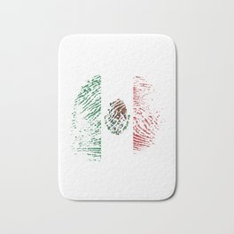 It's In My Dna Mexican Flag Vintage Mexico Gift Bath Mat
