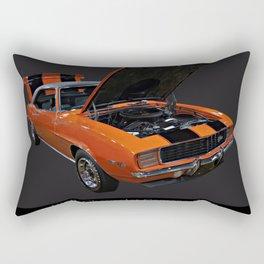 1969 Chevy Camaro Z28 Rectangular Pillow