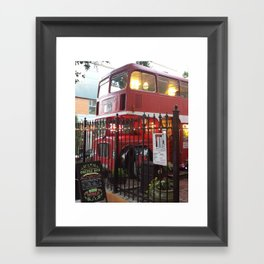 The Coffee Bus Framed Art Print