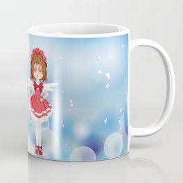 Mini Me Stars: Red Sakura Coffee Mug