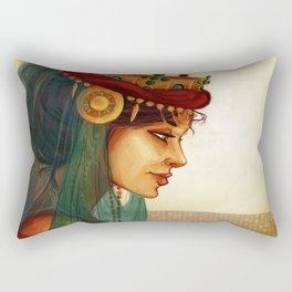Sibylla, Queen of Jerusalem Rectangular Pillow