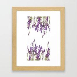 Purple Lavender #2 #decor #art #society6 Framed Art Print