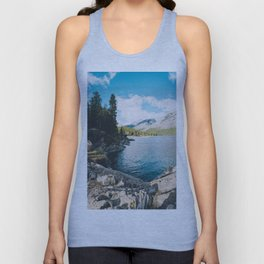 Lake Minnewanka Unisex Tank Top
