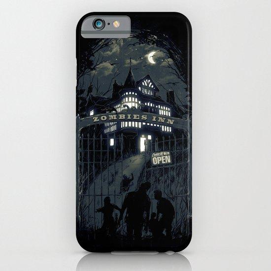 Zombies Inn iPhone & iPod Case