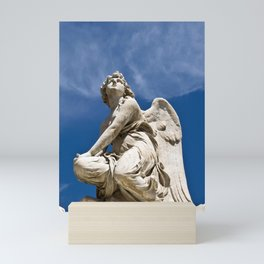 WHITE ANGEL - Sicily - Italy Mini Art Print