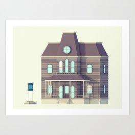 Bates. Art Print