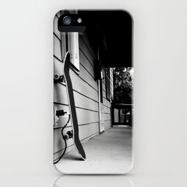 Fresh Grip Black and White iPhone Case