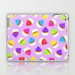 Let them eat cake - purple Laptop & iPad Skin