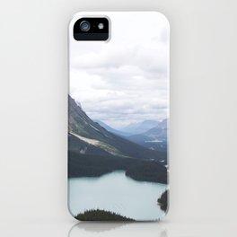 Glacial Lake Jasper iPhone Case