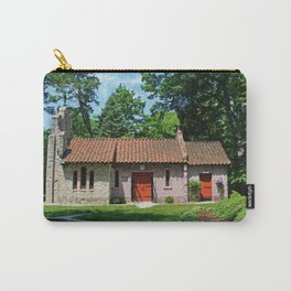 Lourdes University-  Portiuncula  Chapel in the Spring V Carry-All Pouch