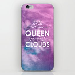 Queen of the Clouds iPhone Skin