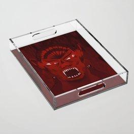 Dracula Acrylic Tray