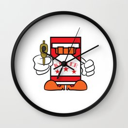 """""""Cigarettes Killer"""" tee design. Makes a unique funny and sensible gift to your loved one! Go get it! Wall Clock"""