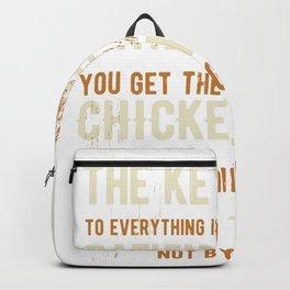 Chicken Hatching Egg Backpack