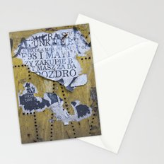 Polish propaganda  Stationery Cards