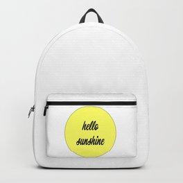 Hello Sunshine Backpack